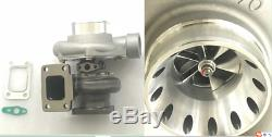 Universal GT35 Anti-surge TURBOCHARGER AR. 63 T3 GT3582R billet wheel A/R. 70