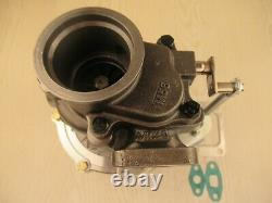 Universal GT35 T3T4 T04E. 70 A/R compressor. 48 A/R hot T3 billet turbo charger