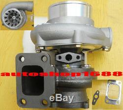 Universal GT35 TURBOCHARGER AR. 63 hot T3 GT3582R A/R. 70 Anti-surge Compressor