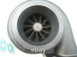 Universal turbolader GT35 Billet T4 flange. 70 A/R anti-surge. 96 A/R hot turbo